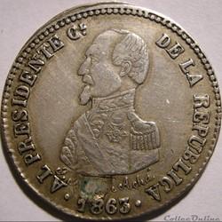1863 Médaille - José Maria de Acha