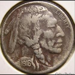 1916 5 Cents (ex.3)