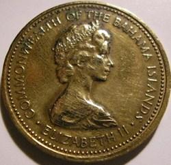 Elizabeth II - 1 Cent 1972 - Bahamas