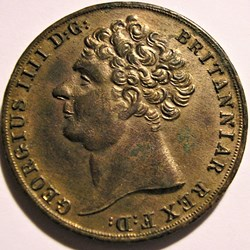 George IV - Double Sovereign 1823 Token ...