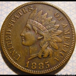 1885 One Cent