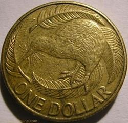 Elizabeth II - 1 Dollar 2000 - New Zeala...