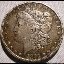 1891 San Francisco Dollar