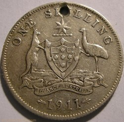 George V - One Shilling 1911 - Australia