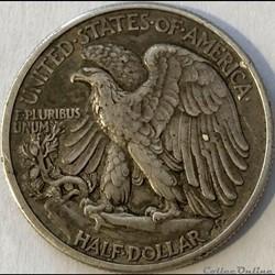 monnaie monde etat uni 1917 half dollar