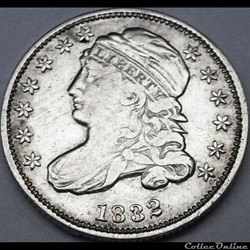 1832 Dime - 10 Cents