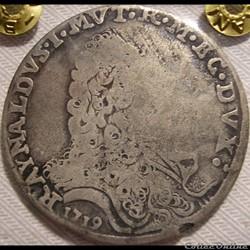 1719 Ducato di Modena e Reggio, Scudo - Rinaldo d'Este (1695-1737)