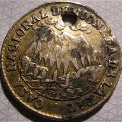 1853 La Paz - Médaille Hôtel de la Monnaie - M.I. Belzu Pdt
