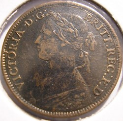 Victoria - One Farthing 1861 - Kingdom o...