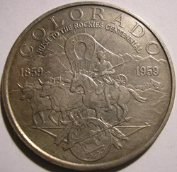 "1959 Colorado ""Rush to the Rockies"" Cent..."