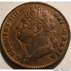 George IV - 1 Farthing 1826 Great Britain