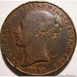 Victoria - 1/13 Shilling 1841 - Jersey