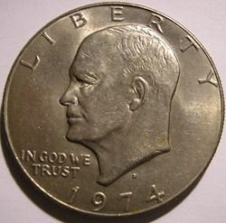 1974 Denver Dollar