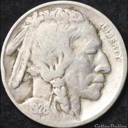 1928 Denver 5 Cents