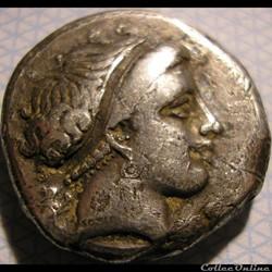 Neapolis, Campania - Didrachm ca. 320-30...
