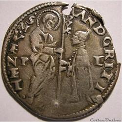 c.1525 Mezza Lira - Andrea Gritti, Dòge - Venezia Republic
