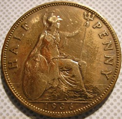 George V - Half Penny 1936 - Great Brita...