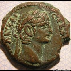 Claudius - Alexandria, Egypt, Æ20 - AD. 41-54
