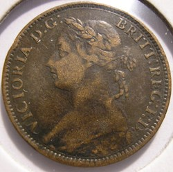 Victoria - One Farthing 1894 - Kingdom o...