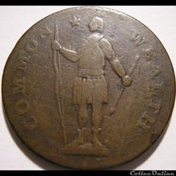 1788 Cent - Massachusetts - Post-1776 Co...