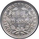 Half Dime (1837-1873)- Seated Liberty USA