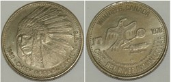 Cree-Red Dollar Token 1978 - Winnipeg