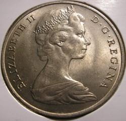 Elizabeth II - One Crown 1968 - Gibralta...