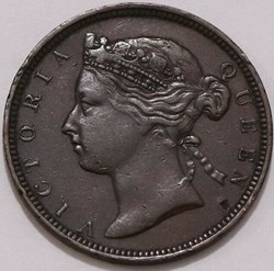 Victoria - Two Cents 1883 - Mauritius Is...