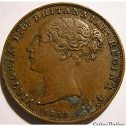 Victoria - 1/26 Shilling 1858 - Jersey