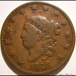 1828 One Cent