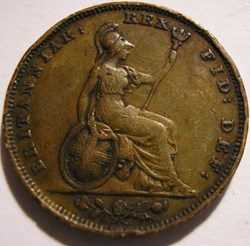 George IV - 1 Farthing 1827 Great Britai...