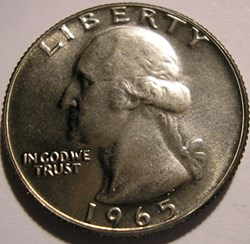 1965 Quarter Dollar