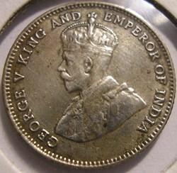 George V - 10 Cents 1927 - Straits Settl...