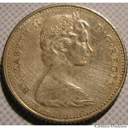 Elizabeth II - 10 Cents 1867-1967 - Cent...