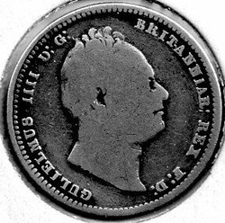 William IV - One Shilling 1836 Kingdom o...