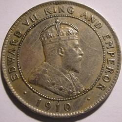 Edward VII - One Penny 1910 - Jamaica