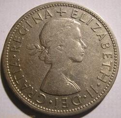 Elizabeth II - Half Crown 1960