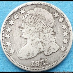 1831 Dime - 10 Cents