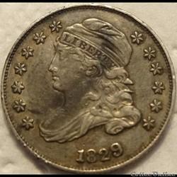 1829 Dime - 10 Cents