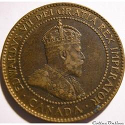 Edward VII - 1 Cents 1902
