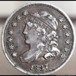1837 Half Dime - 5 Cents