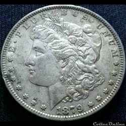 1879 New Orleans Dollar