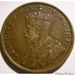 George V - 1 Cent 1911