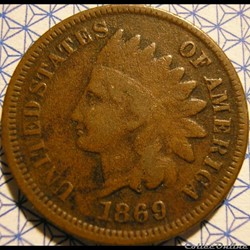 1869 One Cent