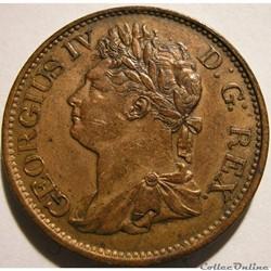 George IV - Half Penny 1823 Ireland