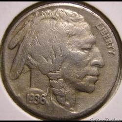1936 San Francisco 5 Cents