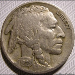 1924 5 Cents