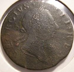 1766 Half Penny Hibernia - George III of...