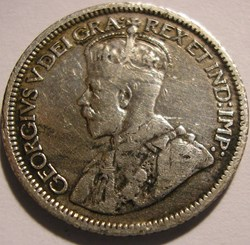 George V - 10 Cents 1916