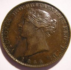 Victoria - HalfPenny 1856 - Nova Scotia